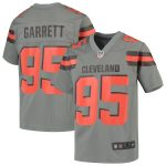 Nike Myles Garrett Cleveland Browns Youth Gray Inverted Game Jersey
