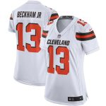 Nike Odell Beckham Jr. Cleveland Browns Women's White Game Jersey