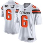 Nike Baker Mayfield Cleveland Browns White Game Jersey