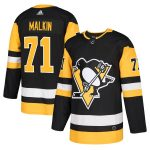 adidas Evgeni Malkin Pittsburgh Penguins Black Authentic Player Jersey