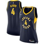 Nike Victor Oladipo Indiana Pacers Women's Navy Finished Swingman Jersey - Icon Edition