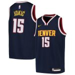 Nike Nikola Jokic Denver Nuggets Youth Navy Swingman Jersey