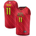 Trae Young Atlanta Hawks Fanatics Branded Fast Break Replica Player Jersey Red - Statement Edition