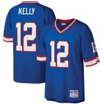 Mitchell & Ness Jim Kelly Buffalo Bills Royal Retired Player Legacy Replica Jersey