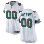 Nike Miami Dolphins Women's White 2019 Alternate Replica Custom Game Jersey