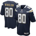 Nike Kellen Winslow San Diego Chargers Navy Retired Player Game Jersey