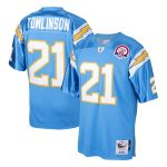 Mitchell & Ness LaDainian Tomlinson San Diego Chargers Powder Blue 2009 Authentic Throwback Retired Player Jersey