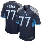 Nike Taylor Lewan Tennessee Titans Navy New 2018 Game Jersey