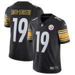 Nike JuJu Smith-Schuster Pittsburgh Steelers Black Team Color Vapor Untouchable Limited Jersey
