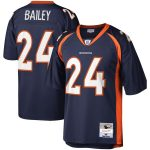 Mitchell & Ness Champ Bailey Denver Broncos Navy Legacy Replica Jersey