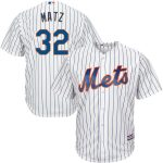 Majestic Steven Matz New York Mets White Official Cool Base Player Jersey