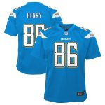 Nike Hunter Henry Los Angeles Chargers Youth Powder Blue Game Jersey