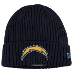 New Era Los Angeles Chargers Youth Navy Core Classic Cuffed Knit Hat