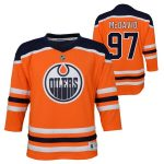 Connor McDavid Edmonton Oilers Toddler Orange Replica Player Jersey