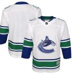 Vancouver Canucks Youth White 2019/20 Away Premier Jersey