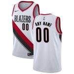 Nike Portland Trail Blazers White Custom Swingman Jersey - Association Edition