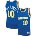 Mitchell & Ness Tim Hardaway Golden State Warriors Royal 1990 Hardwood Classics Swingman Player Jersey