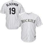 Majestic Charlie Blackmon Colorado Rockies White Cool Base Player Jersey