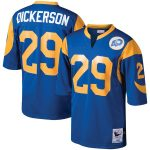 Mitchell & Ness Eric Dickerson Los Angeles Rams Royal 1985 Authentic Throwback Retired Player Jersey