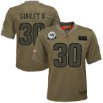 Nike Todd Gurley II Los Angeles Rams Youth Camo 2019 Salute to Service Game Jersey