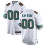 Nike Miami Dolphins Youth White 2019 Alternate Replica Custom Game Jersey
