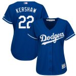 Majestic Los Angeles Dodgers Women's Royal Fashion Cool Base Player Jersey