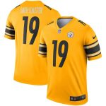 JuJu Smith-Schuster Pittsburgh Steelers Nike Gold Inverted Legend Jersey