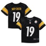 Nike JuJu Smith-Schuster Pittsburgh Steelers Toddler Black Player Game Jersey