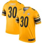 James Conner Pittsburgh Steelers Nike Gold Inverted Legend Jersey