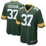 Nike Josh Jackson Green Bay Packers Green Game Jersey