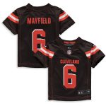 Nike Baker Mayfield Cleveland Browns Toddler Brown Game Jersey
