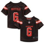 Nike Baker Mayfield Cleveland Browns Infant Brown Game Jersey