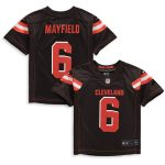Nike Baker Mayfield Cleveland Browns Preschool Brown Game Jersey
