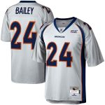 Mitchell & Ness Champ Bailey Denver Broncos Platinum NFL 100 Retired Player Legacy Jersey
