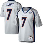 Mitchell & Ness John Elway Denver Broncos Platinum NFL 100 Retired Player Legacy Jersey