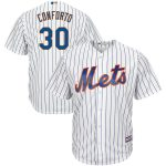 Majestic Michael Conforto New York Mets White Official Cool Base Player Jersey