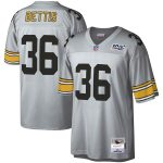 Mitchell & Ness Jerome Bettis Pittsburgh Steelers Platinum NFL 100 Retired Player Legacy Jersey