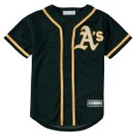 Oakland Athletics Youth Green Alternate Replica Blank Team Jersey