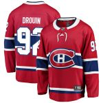 Fanatics Branded Jonathan Drouin Montreal Canadiens Red Breakaway Player Jersey