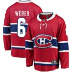 Fanatics Branded Shea Weber Montreal Canadiens Red Breakaway Player Jersey
