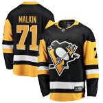 Fanatics Branded Evgeni Malkin Pittsburgh Penguins Black Breakaway Player Jersey