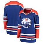 Fanatics Branded Edmonton Oilers Women's Royal Alternate Breakaway Jersey