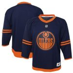 Edmonton Oilers Preschool Navy Alternate Replica Jersey