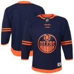 Edmonton Oilers Youth Navy Alternate Premier Jersey