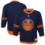 Edmonton Oilers Youth Navy Alternate Replica Jersey