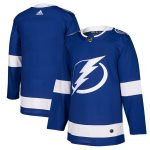 adidas Tampa Bay Lightning Blue Home Authentic Blank Jersey