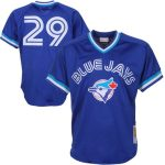 Mitchell & Ness Joe Carter Toronto Blue Jays Royal 1993 Authentic Cooperstown Collection Mesh Batting Practice Jersey