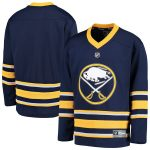 Fanatics Branded Buffalo Sabres Youth Blue Home Replica Blank Jersey