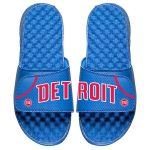 ISlide Detroit Pistons Royal Away Jersey Split Slide Sandals
