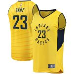 Fanatics Branded JaKeenan Gant Indiana Pacers Gold Fast Break Replica Player Jersey - Statement Edition